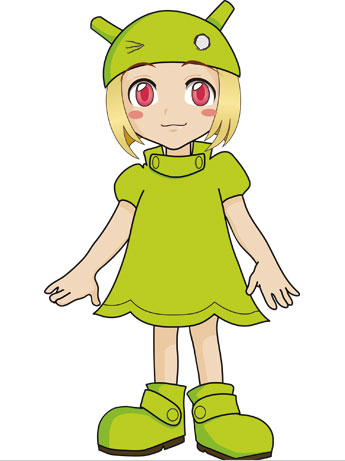 Hachioji-city Makes Unofficial Android Girl Character Droiko-chan