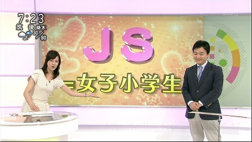 "NHK News Explains What Japanese Web Jargon ""JS"" Means"